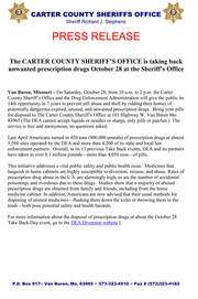 Carter County MO Sheriff's Office