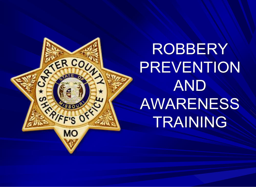 Robbery Prevention